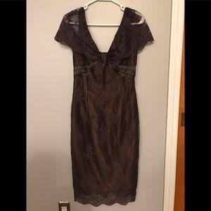 SCOTT MCCLINTOCK BROWN DRESS